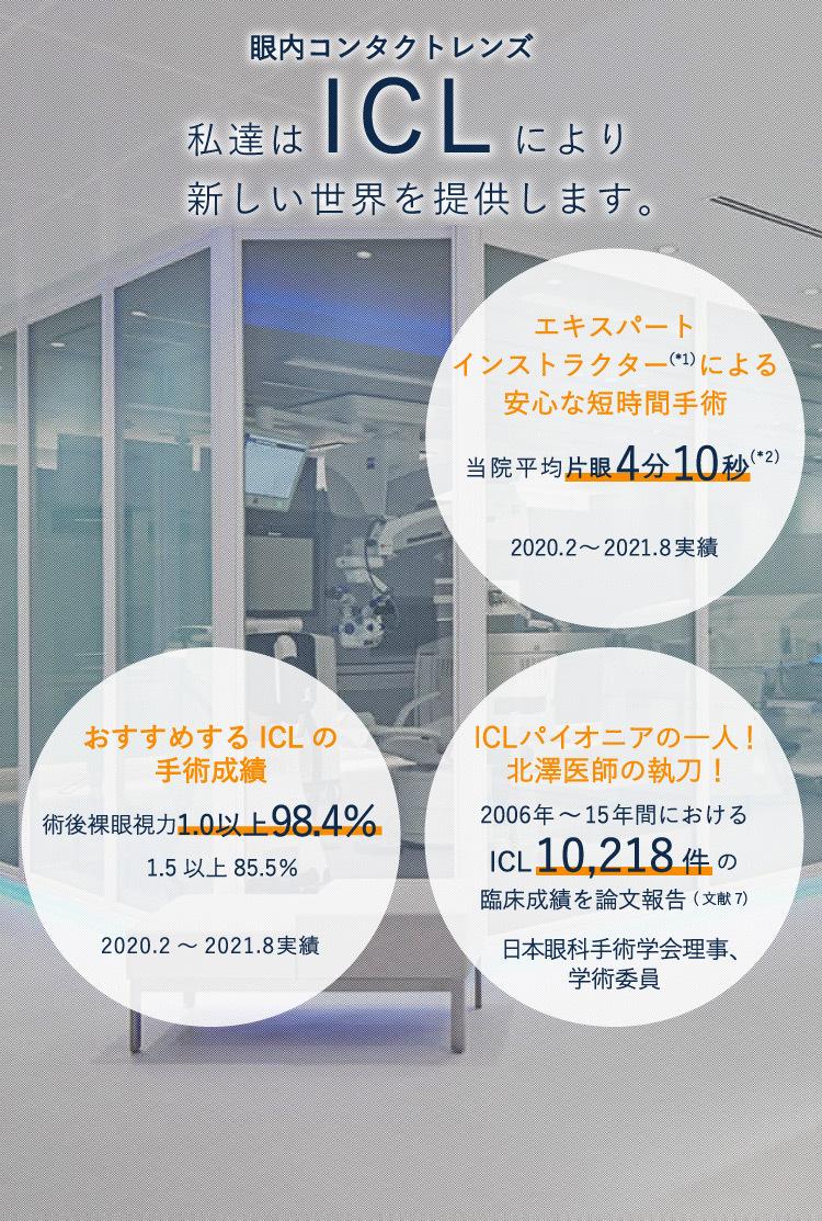 ICL専門サピアタワーアイクリニック東京院内